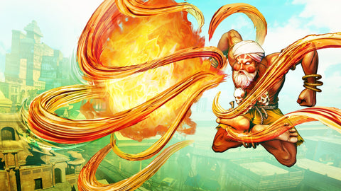 Street Fighter V Dhalsim Game Silk Wall Art Poster Print - 20x30 inch (50x75cm)