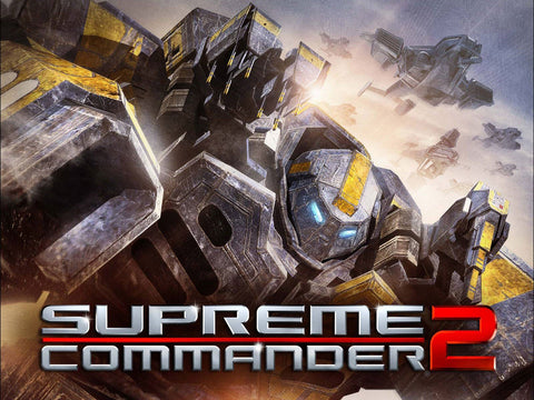 Supreme Commander 2 Game Silk Wall Art Poster Print - 13x20 inch (33x50cm)