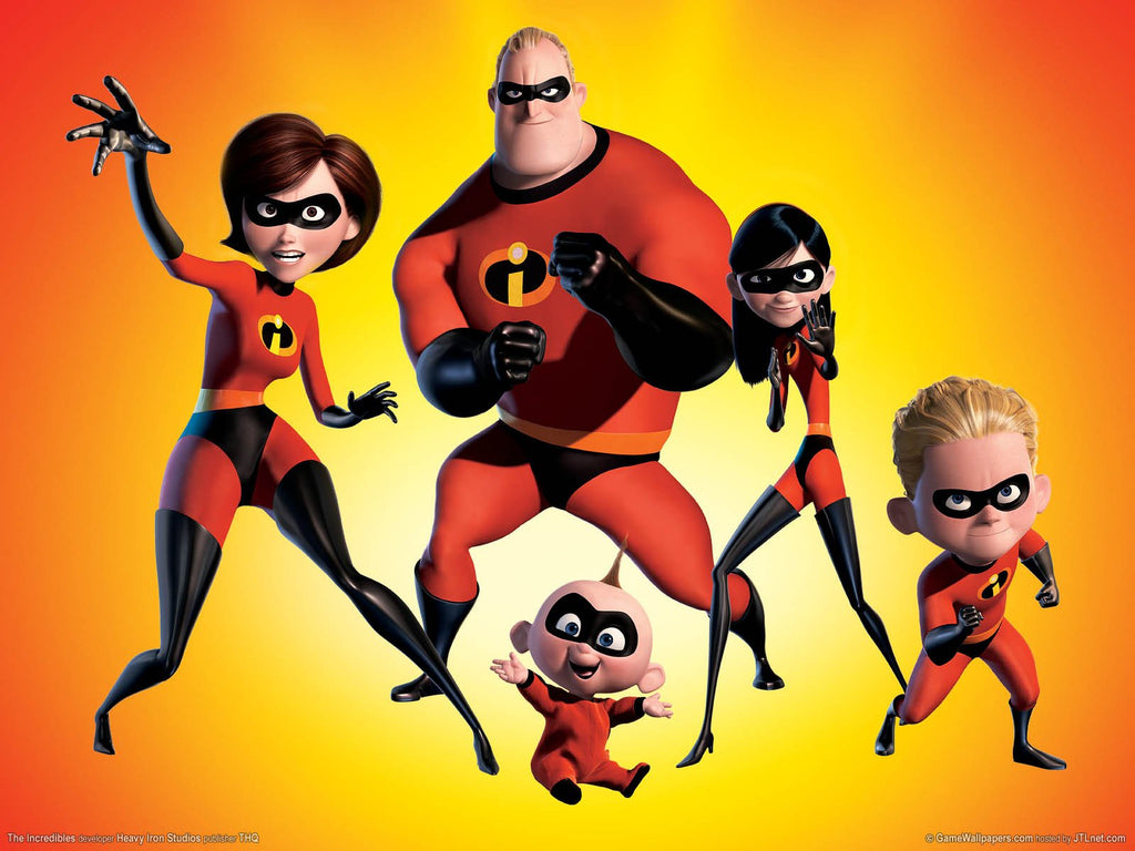 The Incredibles Game Silk Wall Art Poster Print - 13x20 inch ...