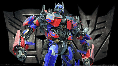 Transformers The Game Optimus Game Silk Wall Art Poster Print - 13x20 inch (33x50cm)