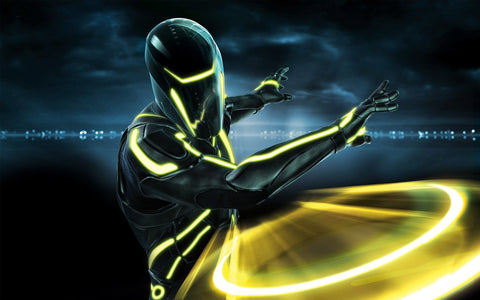 Tron Evolution 2010 Game Game Silk Wall Art Poster Print - 13x20 inch (33x50cm)