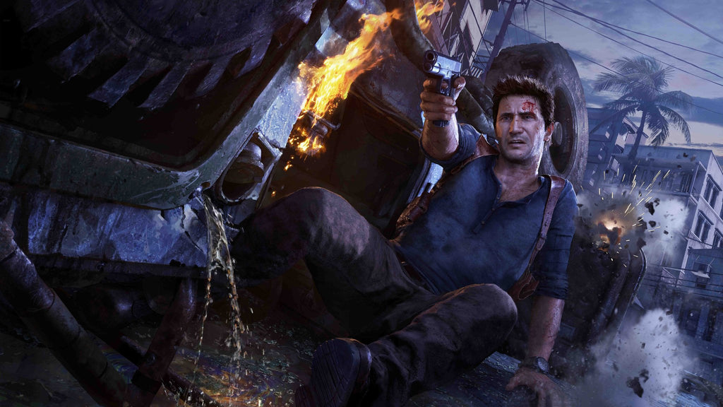 Uncharted 4 A Thiefs End Game Silk Wall Art Poster Print 32x48