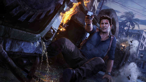 Uncharted 4 A Thiefs End Game Silk Wall Art Poster Print - 32x48 inch (80x120cm)