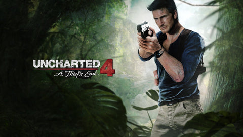 Uncharted 4 A Thief's End 2016 Game Silk Wall Art Poster Print - 13x20 inch (33x50cm)