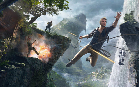 Uncharted 4 A Thief's End 4K 8K HD Game Silk Wall Art Poster Print - 32x48 inch (80x120cm)