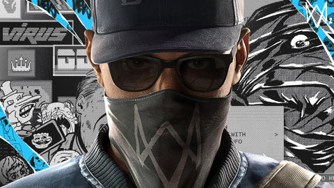 Watch Dogs 2 Marcus Holloway 4K Game Silk Wall Art Poster Print - 13x20 inch (33x50cm)