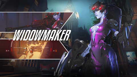 Widowmaker Overwatch Game Silk Wall Art Poster Print - 13x20 inch (33x50cm)