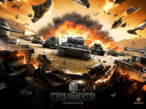 World Of Tanks Game Silk Wall Art Poster Print - 32x48 inch (80x120cm)
