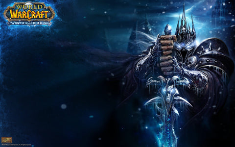 World of Warcraft  Death Knight Game Silk Wall Art Poster Print - 13x20 inch (33x50cm)