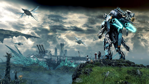 Xenoblade Chronicles X 4K Game Silk Wall Art Poster Print - 32x48 inch (80x120cm)