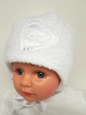 LOVE girls hat New BORN to 9 months