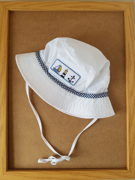 Summer Boy Hat Marine Fisherman Hat Cotton Sun Hat
