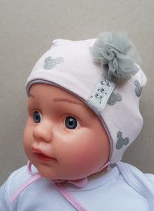 Minnie baby girl hat (0-3 months up to 3 years)