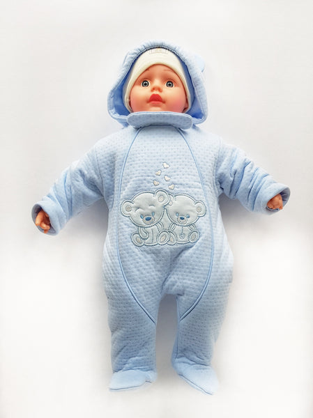 Lovinghats baby pram suit snowsuit all-in-one