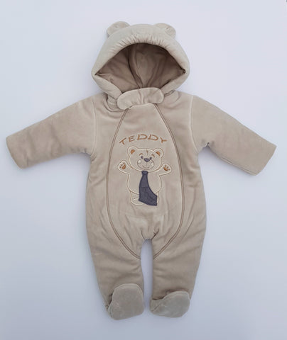Baby Pram Suit All-In-One snowsuit TEDDY BEAR sizes  , 68 (3-6 months)