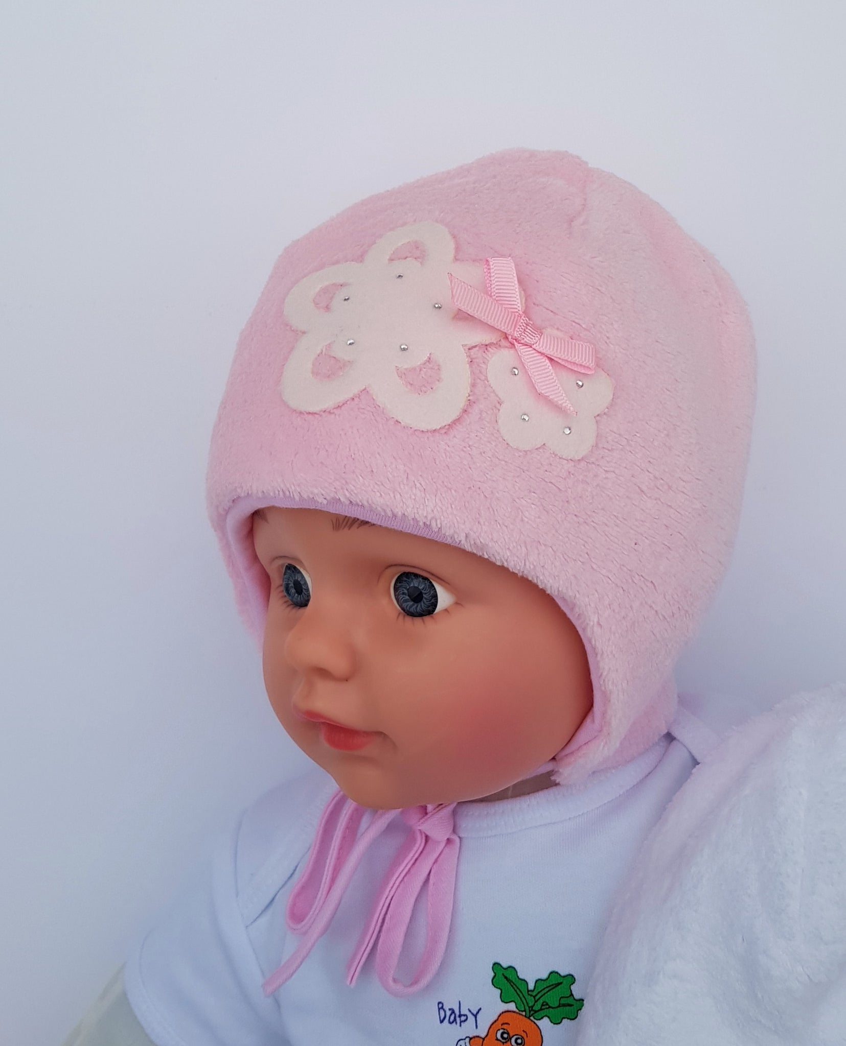 polar warm hat for winter girl warm hat lovinghats wiazane czapki na zime