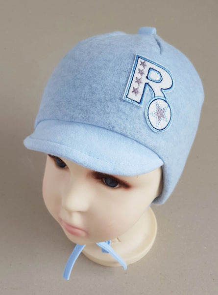Winter hat for boys warm cap sizes 44, 46, 48, 50,52 (from 6 months up to 4  years old)