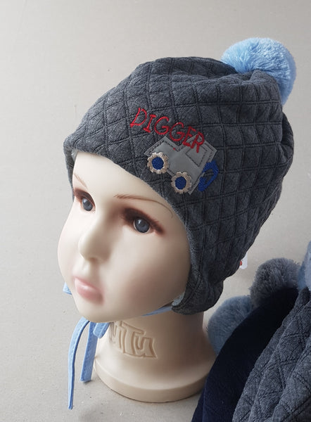 Winter hat digger sizes 40 to 48