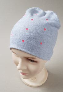 Winter Beanie For Girl SPOTS 2-11 years