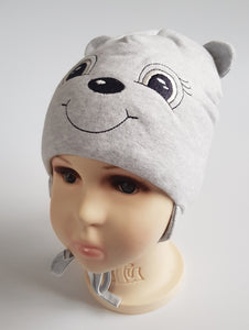 Winter Hat WARM BEAR 4 months to 4 years old  (sizes 44 46 48 50 52)