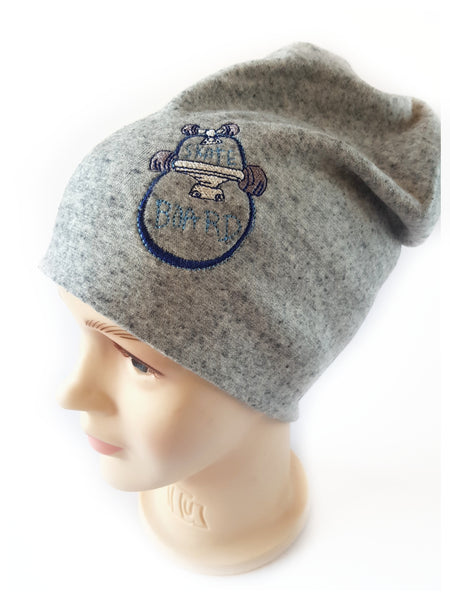 Beanie Warm Hat  for Boys loving skateboard