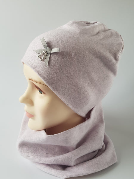 Winter Beanie For Girl BOW 1-15 years