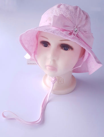 Girls Summer hat Cotton hat Sun Hat