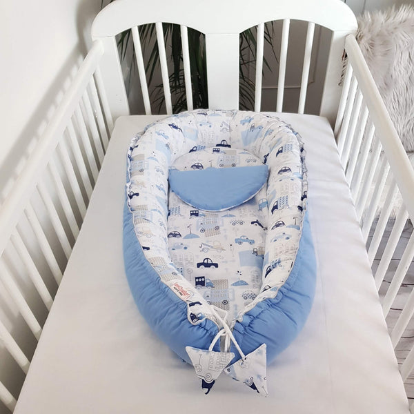 BABY NEST COCOON SLEEP POD CARS EVCUSHY