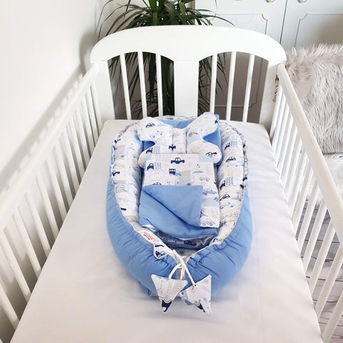 GOOD QUALITY SAFE POD FOR INFANTS WITH EXTRA BEDDING