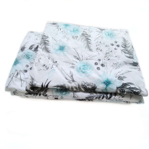 MINT ROSES BLANKET AND PILLOW SET IRELAND EVCUSHY SAVE DUVET AND PILLOW SET READY TO GO