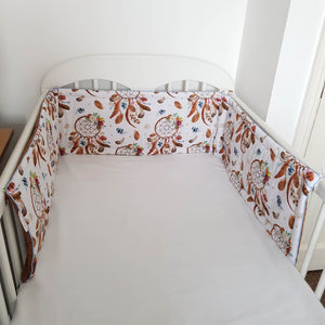 BUMPER FOR COT COT BED TODDLER BED EVCUSHY