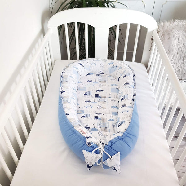 BABY SLEEPING POD LOUNGER PLAY MAT EVCUSHY