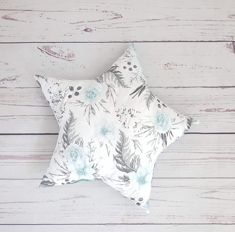 DECORATIVE CUSHION - STAR MINT ROSES COLLECTION
