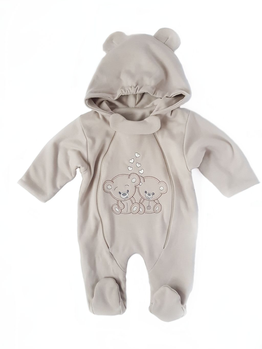 BABY GROW SLEEPING SUIT ALL-IN-ONE BABY OVERALLS ZIPPY-UP