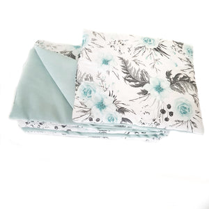 MEDIUM BLANKET AND PILLOW SET FOR BABIES BREATHABLE WARM