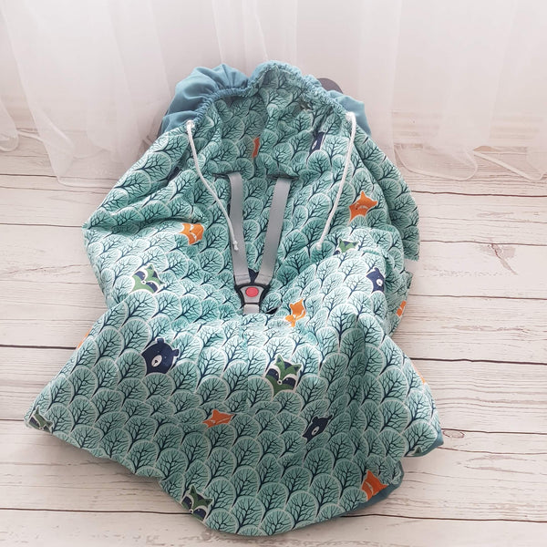safe travel blankets for babies from evcushy