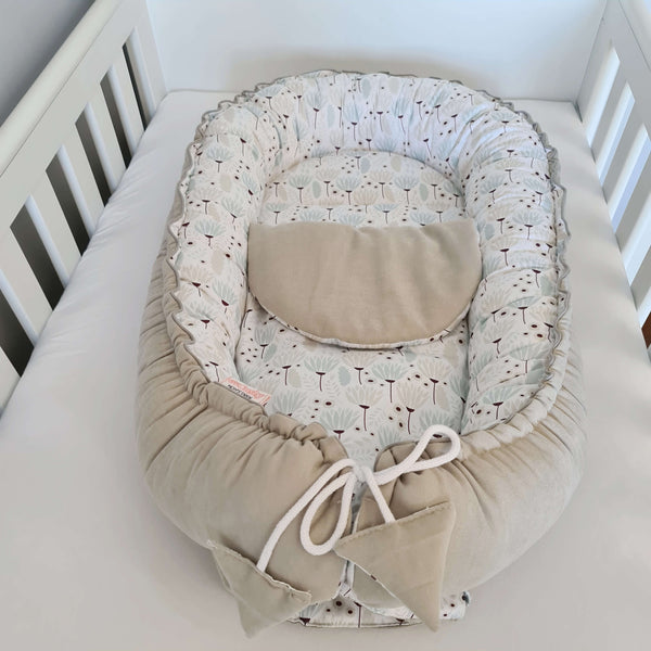 baby nest with mattress comfortable cushion for a new baby