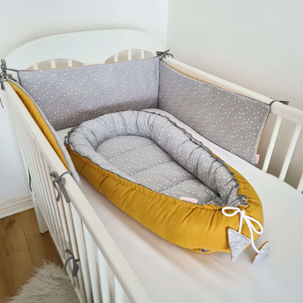 baby sleep pod lounger travel bed double sided baby pod evcushy
