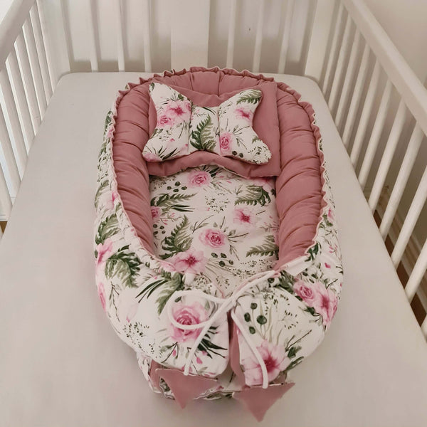 baby bed travel cot lounger baby cushion in Ireland