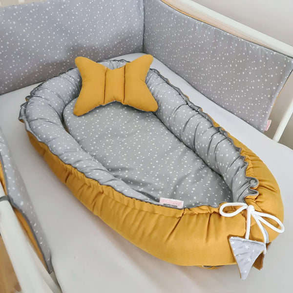 sleep pod for new baby cotton safe baby cushion