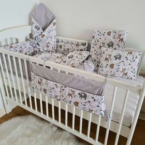 Baby Nest -Pod - Newborn Baby 10 Pc's Starter Set- Be Brave Wild One
