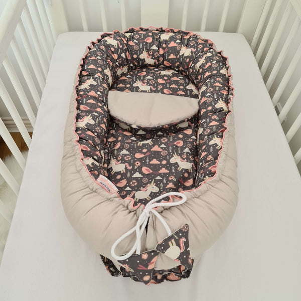 baby nest with liner best baby cushion for transitioning from womb to cot