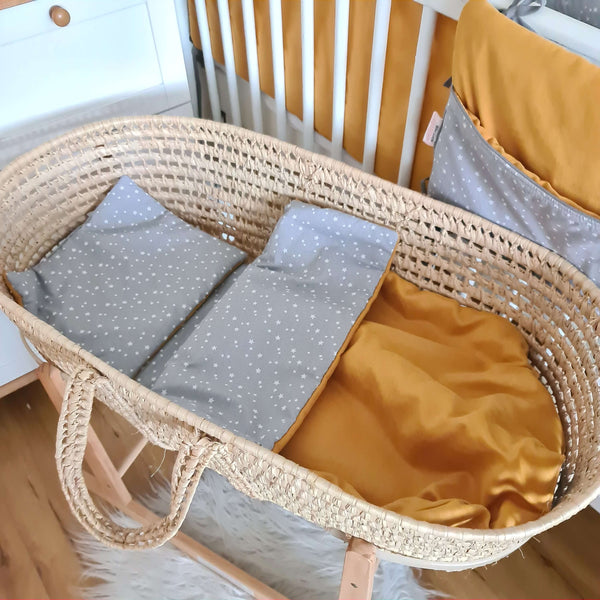 little baby blanket and pillow set moses basket accessories