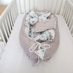 sleepy head from evcushy soft comfortable nest dor newborns