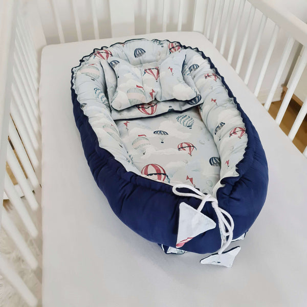 sleep pod like sleepyhead nest for baby safe baby cushion lounger with accessories
