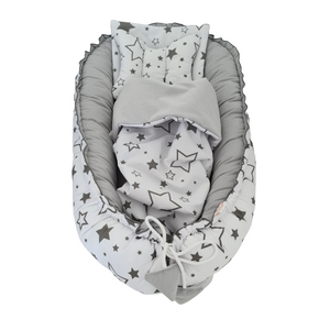Baby Pod Nest Deluxe 5 Pc's Set Galaxy Velvet