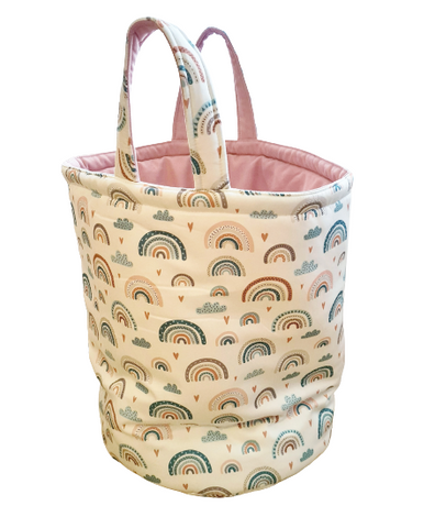 basket for toys bag with handles