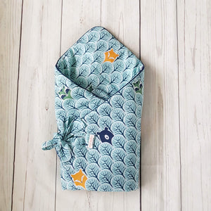 SWADDLE BLANKET 3IN1 FOREST FRIENDS WRAP