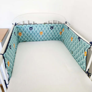 BUMPER - COT AND COT BED SIZES- FOREST