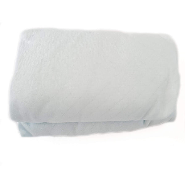 light blue sheet for baby moses basket evcushy